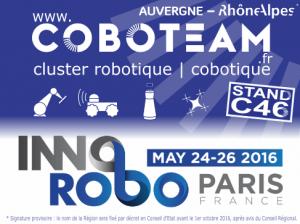 Coboteam sur Innorobo 2016 Paris